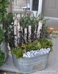 Large Christmas Porch Outdoor Planter