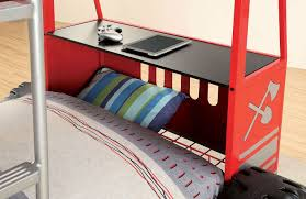 100 Fire Truck Loft Bed Rescuer II Twin Over Twin Bunk By Furniture Of