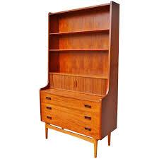 Threshold Campaign Desk Dimensions by Børge Mogensen Teak And Oak Secretary Desk With Bookcase At