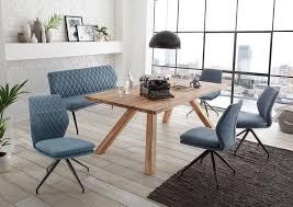 22178 6 tlg essgruppe eiche massiv bank stühle günstig möbel küchen büromöbel kaufen froschkönig24