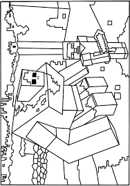 524x750 Roblox Minecraft Monster Coloring Pages