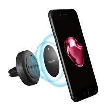 Amazon Spigen Kuel A200 Car Phone Mount Magnetic Air Vent Phone Holder QNMP patible & patible with iPhone X 8 8 plus 7 7 Plus 6S