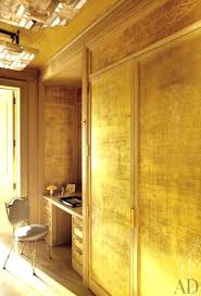 Gold Interior Wall Paint Colors For Walls Color Metallic
