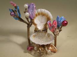 fairy garden sea shell throne 3 me holy cow is this cute or