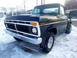 1977 Ford F-150 4x4 Stepside Truck 351 Cleveland V8 4spd Manual Many ...
