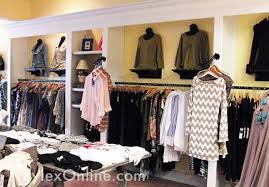 Clothing Store Display Shelving