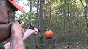 Ways To Make A Pumpkin Last by Pumpkin Carving With A Henry Rifle Original Upload Youtube