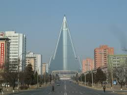Berner Air Curtains Uae by Ryugyong Hotel Exterior Finished Pyongyang North Korea Weird