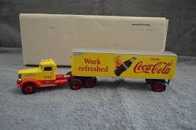 DIECAST WORK REFRESHED Coca-Cola Tractor Trailer Peterbilt Truck ...