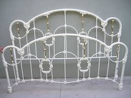 White Wrought Iron King Size Headboards by Nice White Metal Headboard King Size King Size Iron Bed Off White