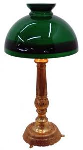 Emeralite Lamp Shade 8734 by Emeralite Desk Or Table Lamp With Green Cased Shade Desks