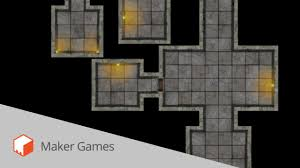 Dungeons And Dragons Tile Mapper by Roll20 Dungeon Map Layout Tutorial Youtube