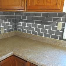 backsplash adhesive tiles kitchen style peel impress x adhesive