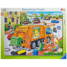 100 Rubbish Truck Ravensburger Puzzle 06346 8 On OnBuy