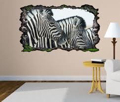 3d wandtattoo zebra zebras kopf afrika tier selbstklebend wandbild wandsticker wohnzimmer wand aufkleber 11o1316 wandtattoos und leinwandbilder