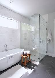 daltile modern dimensions bathroom transitional with gray floor