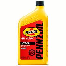 Pennzoil High-Mileage 5W-30 Motor Oil, 1 Qt - Walmart.com