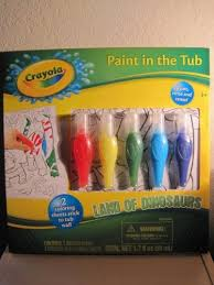 Crayola Bathtub Fingerpaint Soap Non Toxic by Kids Crayola Paint In The Tub Activity Set By Crayola 8 00 2