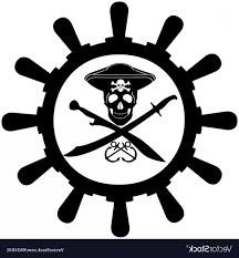 100 Design A Pirate Ship Steering Wheel Of Vector SOIDERGI