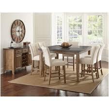 Bluestone Dining Room by Steve Silver Db5454mt Db600tl Debby 54 Top Bluestone Counter
