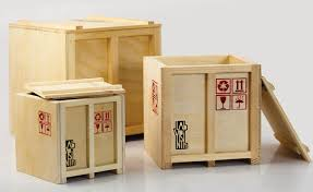 TREND SHIPPING CRATES HANDLE WITH CARE