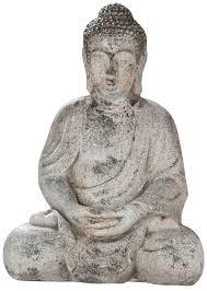 dekojohnson thai buddha deko figur garten japanische gartendeko 41 cm