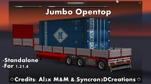 JUMBO OPENTOP TRAILER | ETS2 Mods | Euro Truck Simulator 2 Mods ... The Transport Of Eyeglasses Is Not Too Big A Problem Jumbo Truck Buy Mecard Ex Mecardimal Figure Online At Toy Universe Australia Lvo Fh12 440 Jumbo Platform Trucks For Sale Lorry From Other Radio Control Click N Play Friction Powered Snow Mercedesbenz Set Jumbo Mega Bdf Actros 2542 E6 Box Container 2x7 7 Jacksonville Shrimp On Twitter Were In Truck Heaven China Led Trailer Combination Auto Tail Light With Adr 6x2 2545 L Stake Body Tarpaulin Eddie Stobart White Lorry Size Fridge Magnet No01 6 Tonne Capacity Farm Tipper Work Yellow