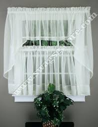 Walmart Lace Kitchen Curtains by Walmart Curtains For Bedroom Lace Kitchen Cream Country Best Sheer