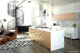 decoration salon cuisine ouverte salon ouvert sur cuisine deco salon cuisine deco cuisine e deco