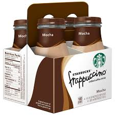 Starbucks Frappuccino Coffee Drink Mocha 95 Oz Bottles 4 Count