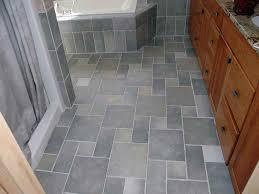 Tile Bathroom Floor Simple Home Floors Vs Linoleum 1