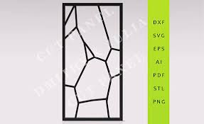 tyngo privacy screen dxf svg eps ready to cut file cnc template