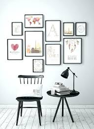 Family Picture Frame Wall Ideas Best Gallery On Frames Regarding Multi Art Wallpaper Interior Design