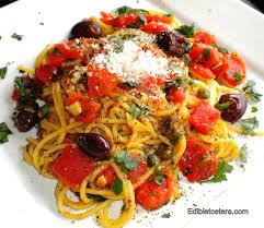 pates a la puttanesca recipe spaghetti alla puttanesca edibletcetera fast