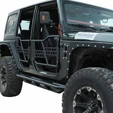 07-16 Jeep Wrangler JK 4DR Tubular Safari Doors W/o Mirror