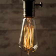 teardrop vintage style light bulb by william watson