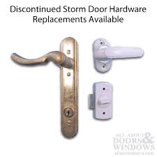 3 Post Storm Door Handle Set Discontinued Replacement Available