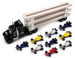 Buy Triple Floor Trailer Childrens Friction Toy Semi Truck Ready To ... Vintage 1960s Japan Safeway 16 Tin Tractor Trailer Toy Semi Truck Hess Toy Revealed Hesstruck2013 Hexpress Amazoncom Newray Peterbilt Us Navy Diecast 132 Scale Mack Log Diecast Replica Assorted Cars Trucks And Collection Disney Promotional Large Stress Toys With Custom Logo For 1455 Ea 164th Dcp Freightliner Cabover Custom Youtube Sandi Pointe Virtual Library Of Collections Reviews Truckfreightercom Dunkin Donuts Collector Toy Di Cast Truck Semi Tractor Trailer Stock Turn Into Gas Rc Best Resource R Us Semitrailer By Thomasanime On Deviantart