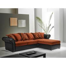 canape cuir et tissu canape cuir et tissus design fabulous salon en tissu projet de