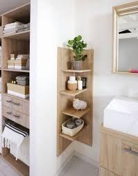 praktische utensilien badpflanze stauraum eckregal