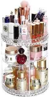 cozy vibe make up organizer organizer 360 grad organizer schmink aufbewahrung kosmetikbox für dresser schlafzimmer badezimmer groß