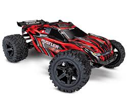 Rustler 4X4 1/10 4WD RTR Stadium Truck (Red) By Traxxas [TRA67064-1 ...
