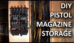 Diy Gun Rack Plans by Making A Pistol Magazine Storage Rack Youtube