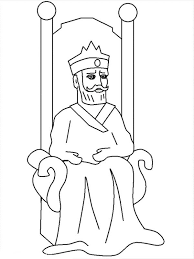Picture Of King Nebuchadnezzar Colouring Page