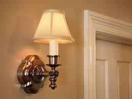 hallway wall sconces battery operated led lights i homes