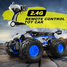 100 Bigfoot Monster Truck Toys 24G RC Cars Remote Control Off Road RTR
