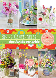 Spring Centerpieces For The DIY Bride That Are Simple Yet Striking
