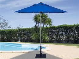 Treasure Garden Commercial Aluminum 75 Feet Wide Push Up Lift Umbrella