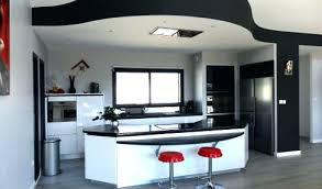 ilot central cuisine design cuisine americaine avec ilot modele cuisine ouverte formidable
