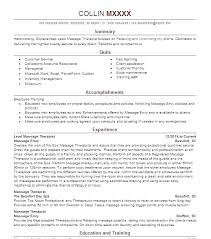 Massage Therapist Job Description For Resume Therapy Template Lovely 25